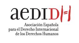 logo for Asociación Española para el Derecho Internacional de los Derechos Humanos
