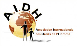 logo for Association Internationale des Droits de l'Homme