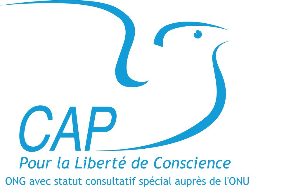 logo for European Coordination of Associations and Individuals for Freedom of Conscience
