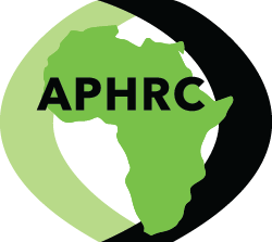 logo for African Population and Health Research Center