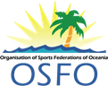 logo for Organisation of Sports Federations of Oceania
