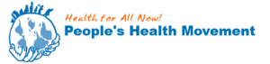logo for People's Health Movement