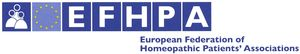 logo for European Federation of Homeopathic Patients' Associations