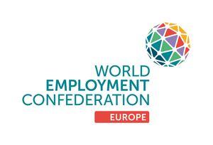 logo for World Employment Federation Europe