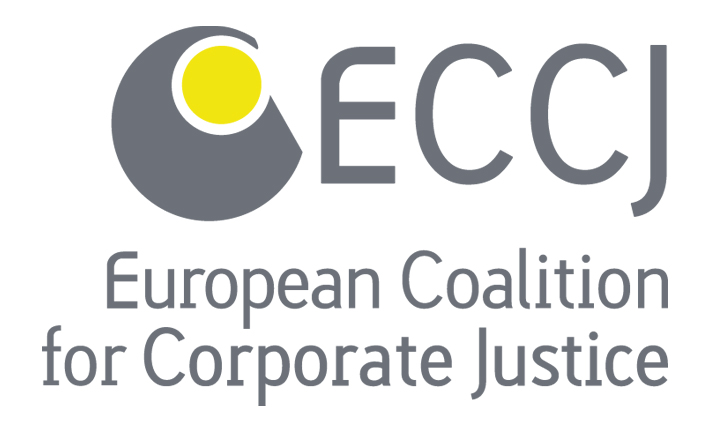 logo for European Coalition for Corporate Justice