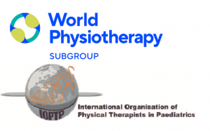 logo for International Organisation of Physical Therapists in Paediatrics