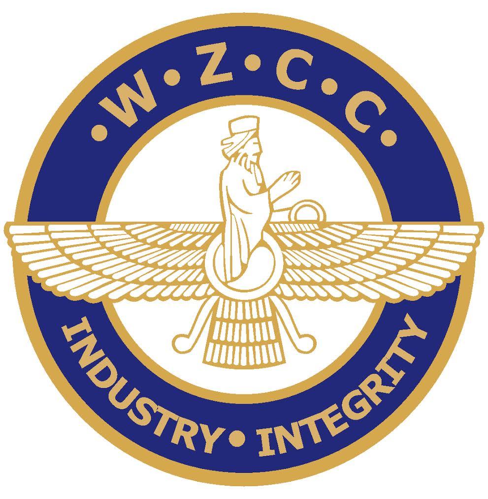 logo for World Zarathushti Chamber of Commerce