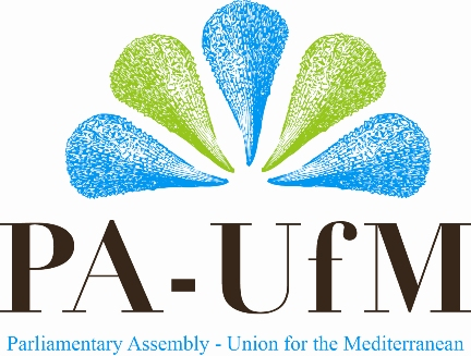 logo for Parliamentary Assembly - Union for the Mediterranean