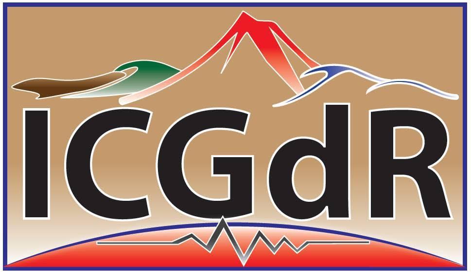 logo for International Consortium on Geo-disaster Reduction