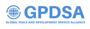 logo for Global Peace and Development Service Alliance
