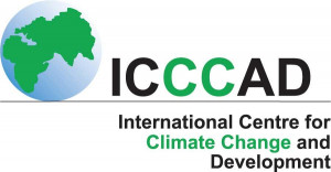 logo for International Centre for Climate Change and Development