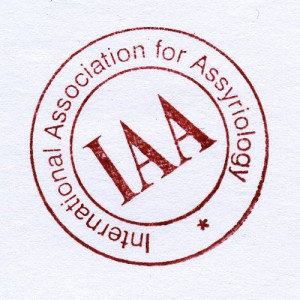 logo for International Association for Assyriology