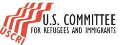 logo for United States Committee for Refugees and Immigrants