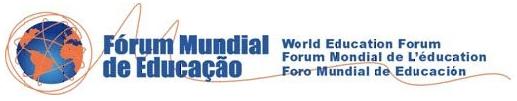 logo for World Education Forum