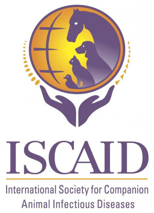 logo for International Society for Companion Animal Infectious Diseases