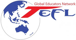 logo for Global Educators Network  Association of Teachers of English as a Foreign Language