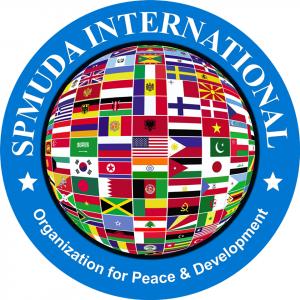 logo for SPMUDA International Organization for Peace and Development