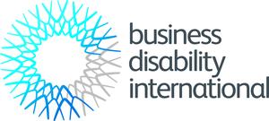 logo for business disability international