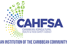 logo for Caribbean Agricultural Health and Food Safety Agency