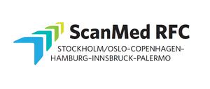 logo for Scandinavian-Mediterranean Rail Freight Corridor