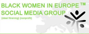 logo for Black Women in Europe Social Media Group