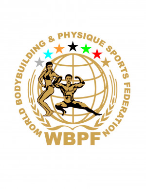 logo for World Bodybuilding and Physique Sports Federation