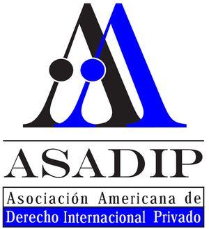 logo for Asociación Americana de Derecho Internacional Privado