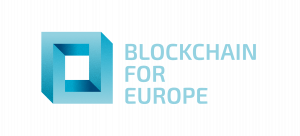 logo for Blockchain for Europe