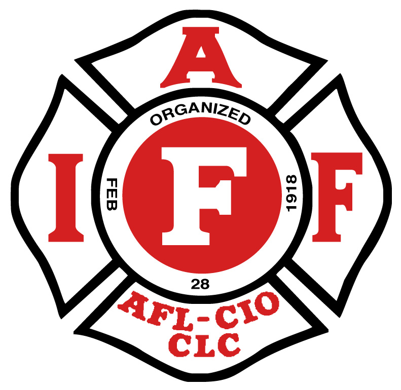 logo for International Association of Fire Fighters