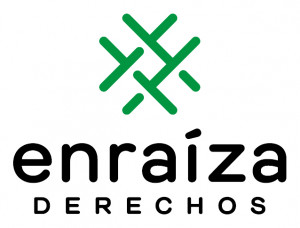 logo for Enraíza Derechos