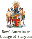 logo for Royal Australasian College of Surgeons