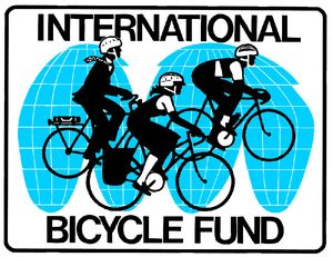 logo for International Bicycle Fund