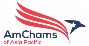 logo for AmChams of Asia Pacific