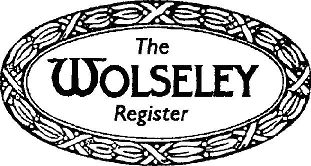 logo for Wolseley Register