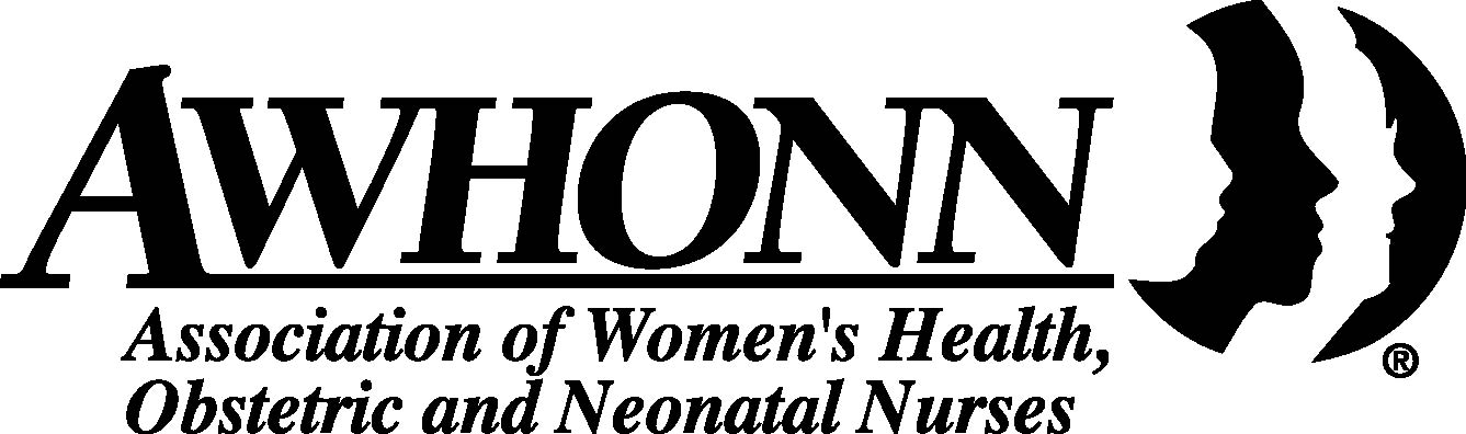 logo for Association of Women's Health, Obstetric and Neonatal Nurses