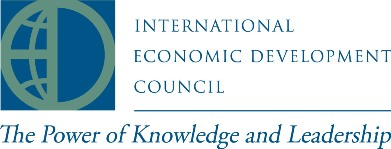 logo for International Economic Development Council