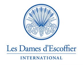 logo for Dames d'Escoffier International, Les